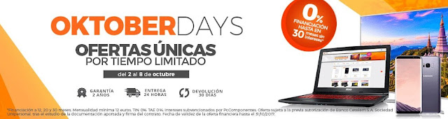 Oktober Days de PCComponentes