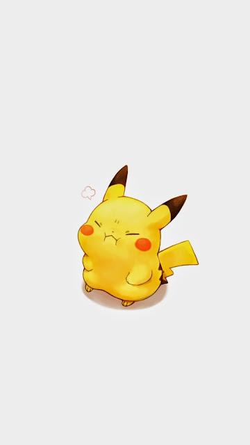 kawaii pikachu wallpaper