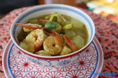Carole's Chatter: Wintermelon Soup with Shrimp – Asian Inspired