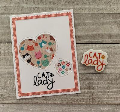Cat Lady Stamp