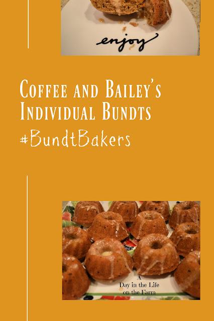 Coffee and Baileys Individual Bundts pin