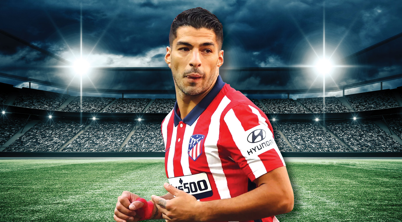 Luis Suarez will look to hurt his old enemy Real Madrid in the colors of Atletico Madrid