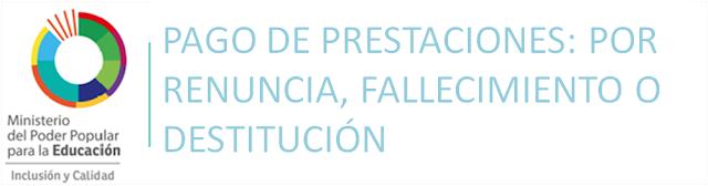 Resultado de imagen para Prestaciones Sociales del Personal Docente, Administrativo y Obrero