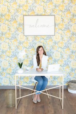 Jaclyn Fraser at At Last Wedding studio