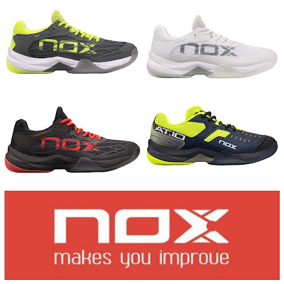 La firma NOX completa su portfolio con nuevas zapatillas de pádel.