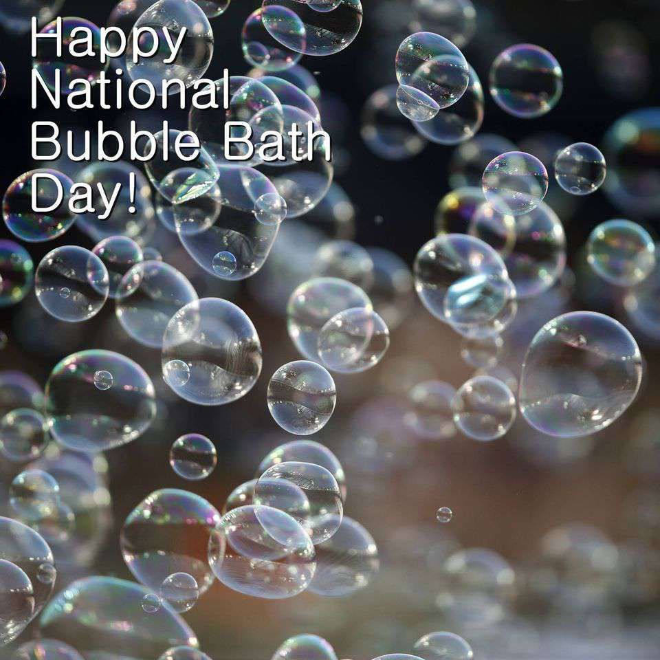 National Bubble Bath Day Wishes For Facebook