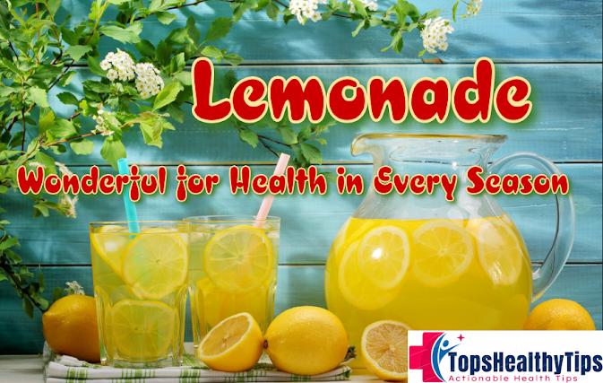 Lemonade: Wonderful for Health in Every Season