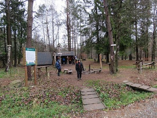 Baza namiotowa w Regietowie.
