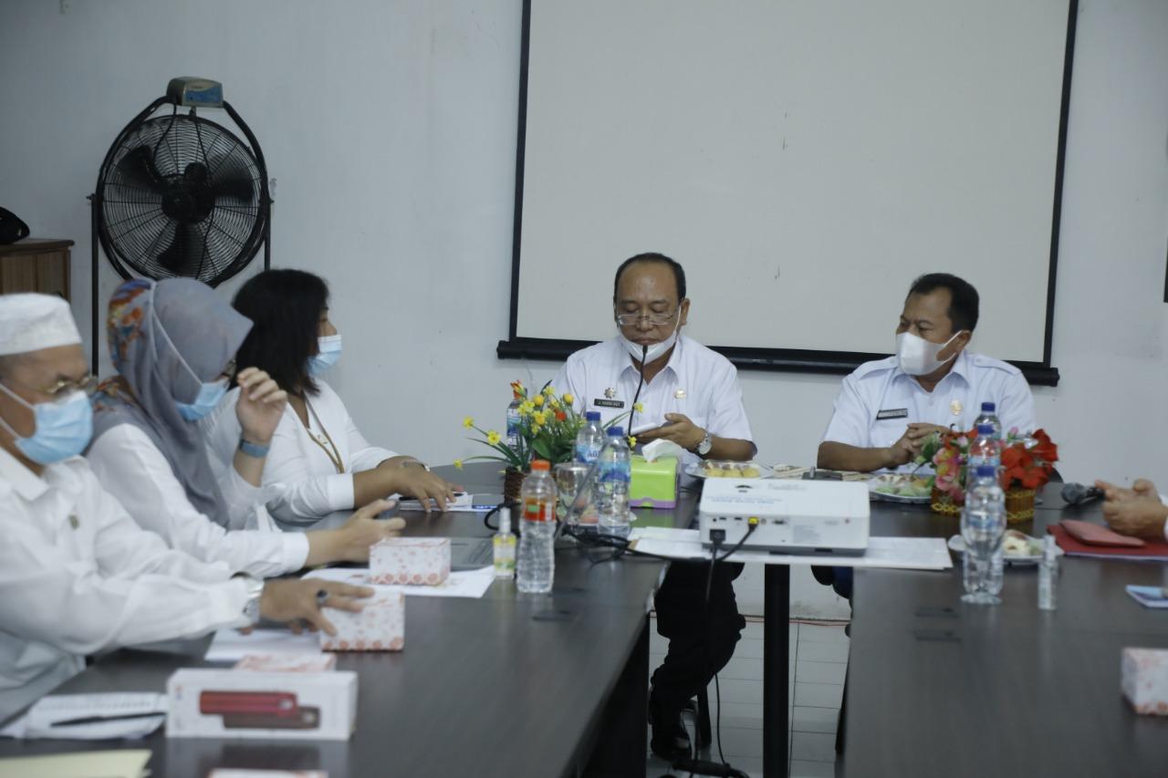 Pj Sekdakab Asahan Membuka Kegiatan Advokasi Kepada Pemangku Kebijakan Daerah Dalam Promosi dan KIE Pengasuhan 1000 Hari Pertama