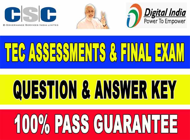 CSC TEC Exam Question Answer Key 2021 – 100% Pass Guarantee
