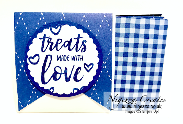 Nigezza Creates With Stampin' Up! a Small Triangular Treat Box
