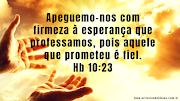 Firmes nas promessas de Deus