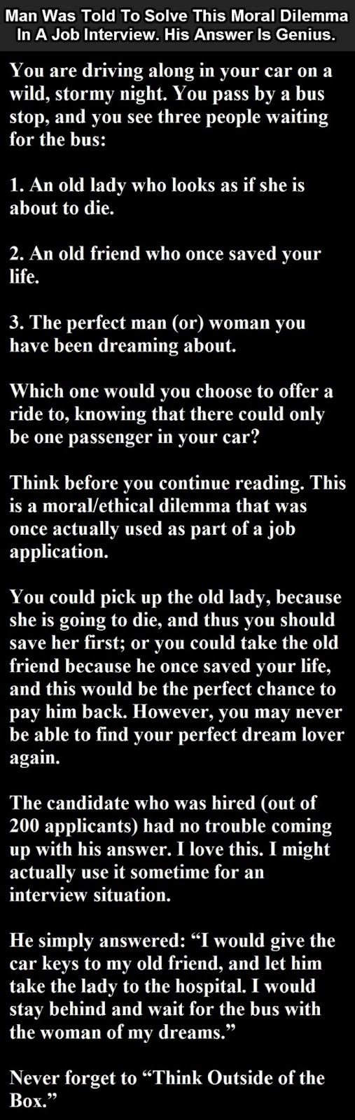 The Best Job Interview Answer Ever. This Man Just Nailed It!!