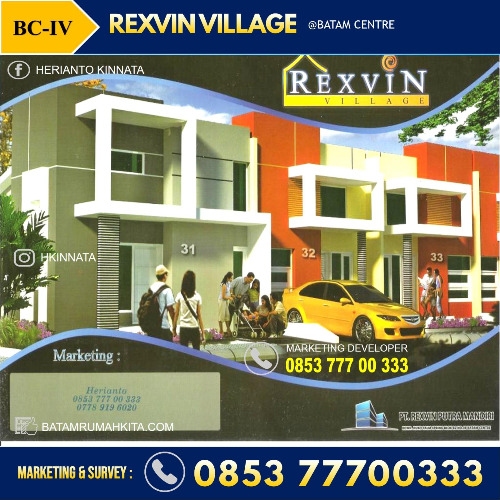 Brosur Rexvin Village Batam Centre
