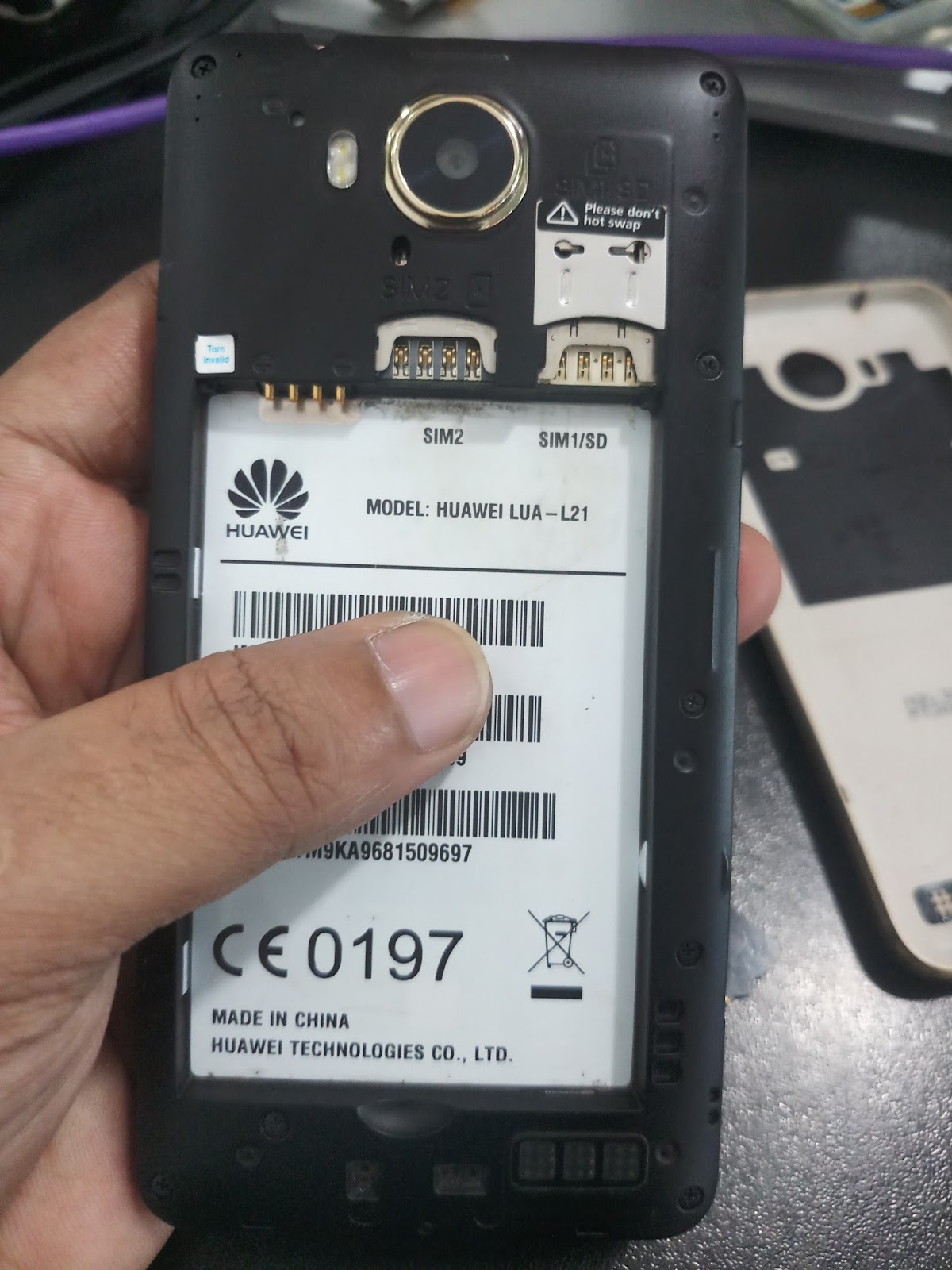 HUAWEI LUA-L21 FLASH FILE MT6735M DEAD BOOT RECOVERY FIX HANG LOGO