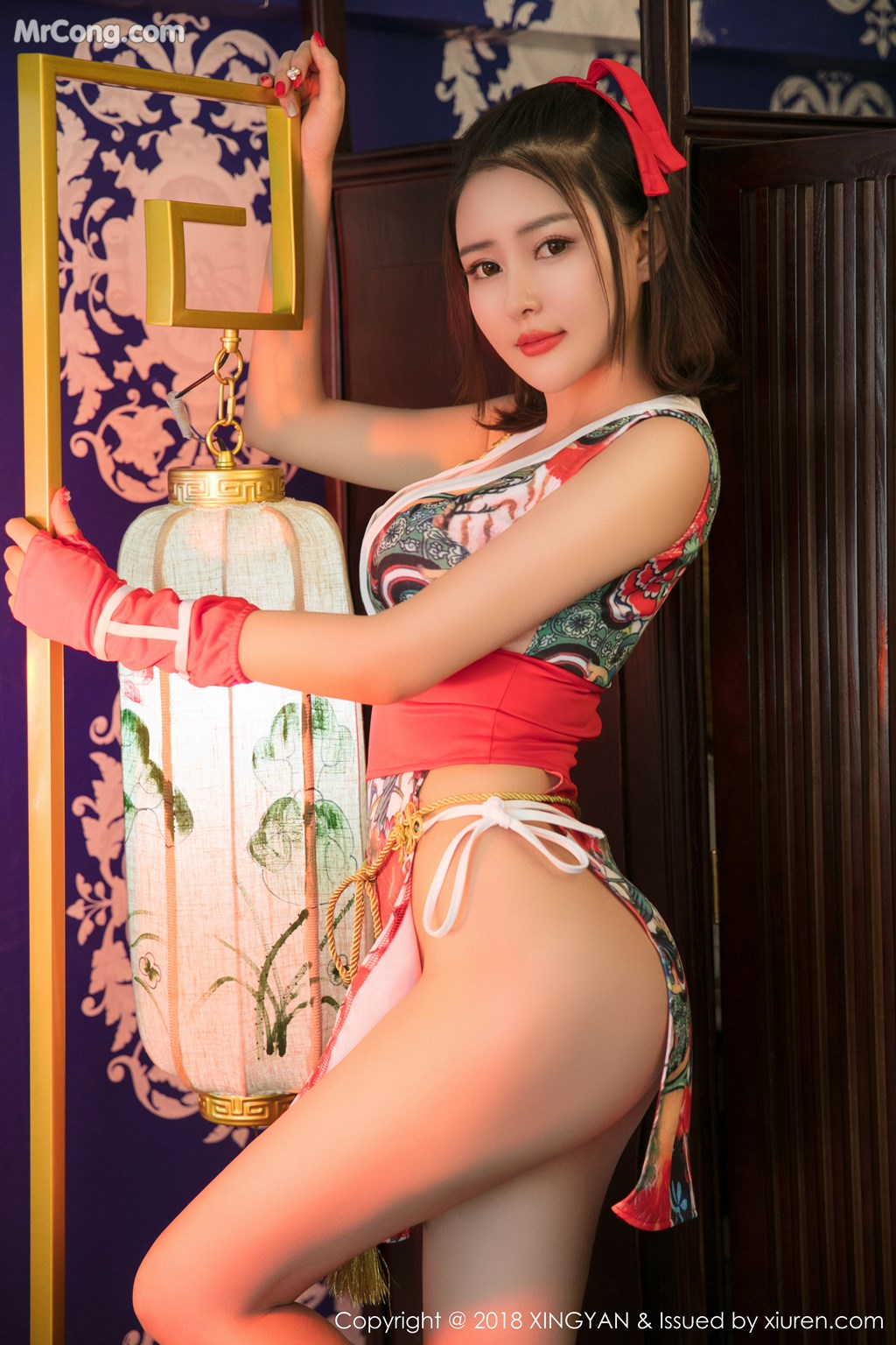 Image XingYan-Vol.028-MrCong.com-003 in post XingYan Vol.028: Người mẫu 廿十 (41 ảnh)