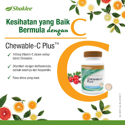 Chewable-C Plus Shaklee