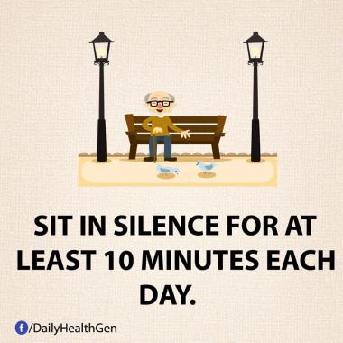Luangkanlah Waktu Untuk Duduk Dalam Ketenangan Paling Tidak 10 Menit Setiap Hari (Identitas.net)