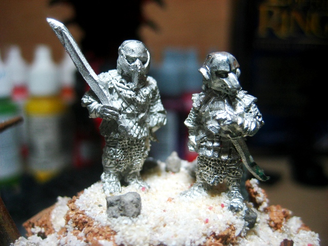 WIP: Sam and Frodo in Orc Armour photo