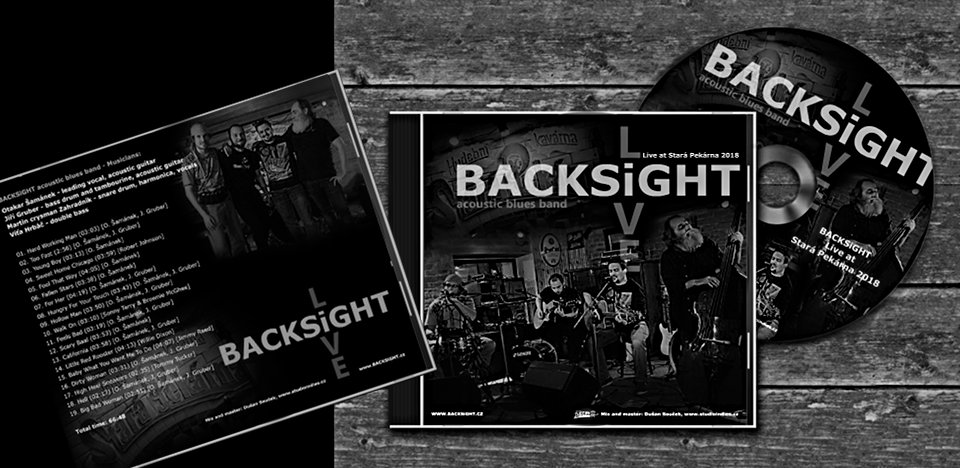 promo nové album BACKSiGHT Live