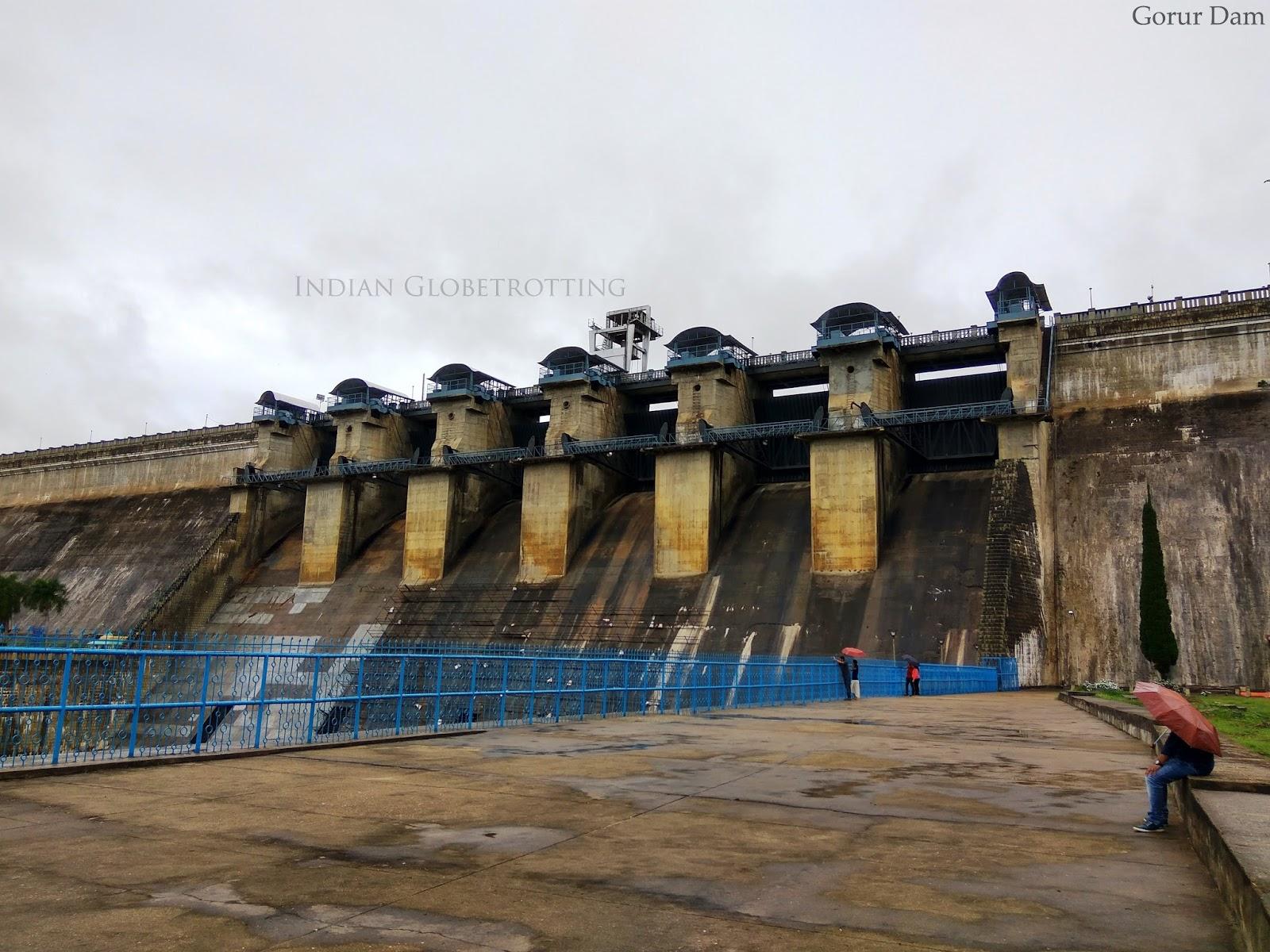 A view of Gorur Dam