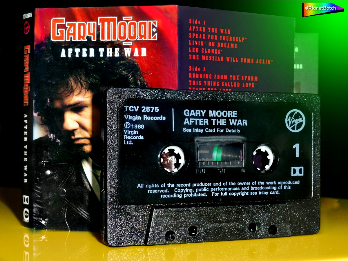 Gary Moore - After the War cassette
