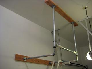 Constantly Varied Crossfit Garage Gym Diy Pull Up Bar