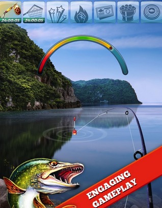 Let's Fish: Sport Fishing - Game Memancing Android