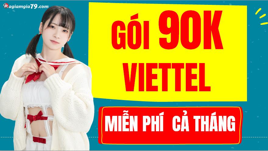 Cách đăng ký 4G Viettel gói 90k