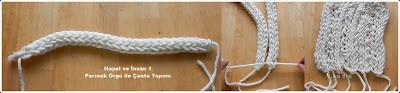 Parmak Örgü Yapımı, Parmak Örgü Çanta Modeli Yapımı, Videolu 1