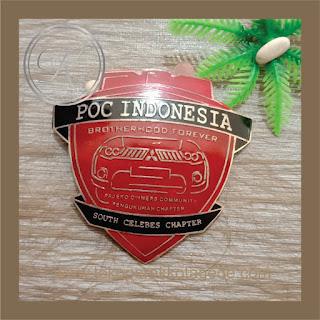 PIN KUNINGAN POC INDONESIA