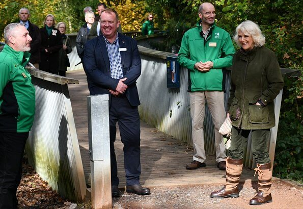 Westonbirt Arboretum is home to the national collection of Maples and Japanese Maple Cultivars. The Duchess is patron of Arboretum
