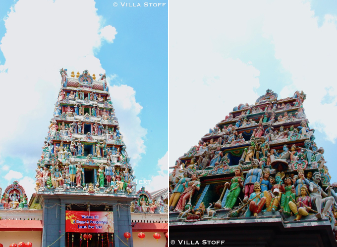 Singapur | Sri Mariamman Hindu Temple in Chinatown