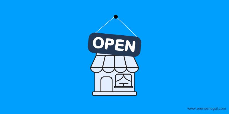 Pazaryerinde mağaza açmak