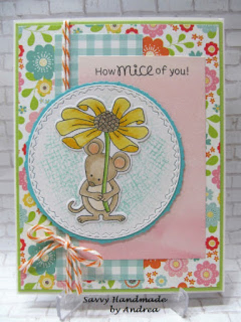 How mice of you by Andrea W. features Garden Mice by Newton's Nook Designs: #newtonsnook