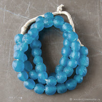 African Ethnic Glass Beads