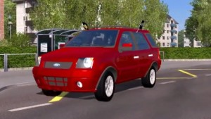 Ford Eco Sport XLT 2008 car mod
