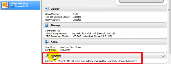 Lab 1 2 Remote MikroTik in VirtualBox ~ To Be Continued