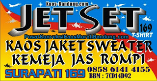 Jasa Konveksi Pembuatan kaos Sablon , jaket , Sweater , Jas , rompi Murah Bandung