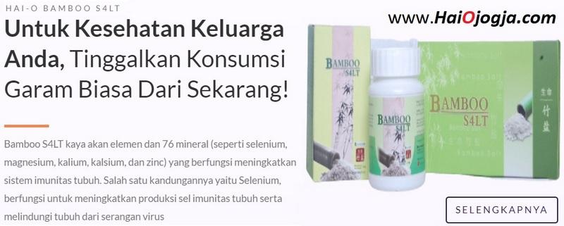 produk BAMBOO SALT