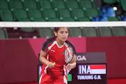 Olimpiade Tokyo, Gregoria Berhasil Lewati Ujian Pertama