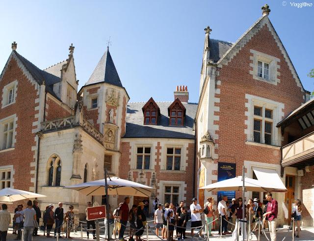 Le Clos Lucé, il castello di Da Vinci, è il secondo della città di Amboise