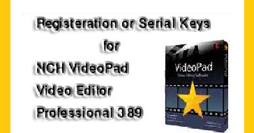 nch videopad video editor professional 5.32 crack