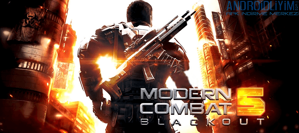 modern combat 5 blackout apk obb indir gameloft