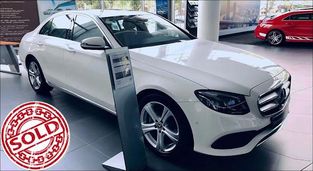Mercedes E250 2018 màu Trắng nội thất Đen qua sử dụng