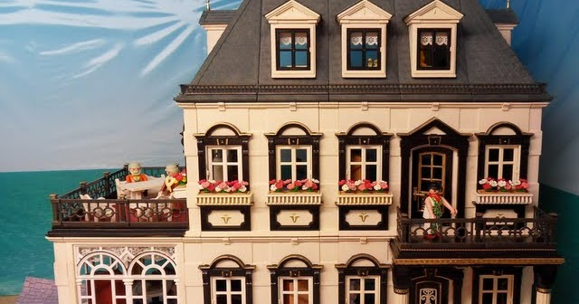 5300 Painted Victorian Mansion Emma J S Playmobil