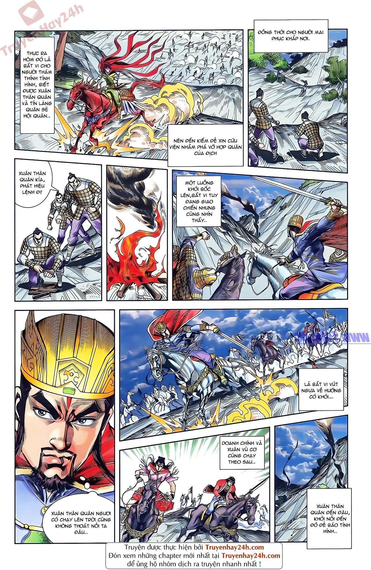 Tần Vương Doanh Chính chapter 48 trang 23