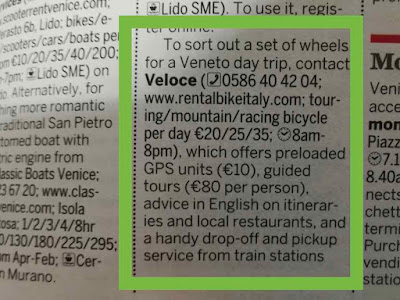 Veloce bike rental review Lonely Planet
