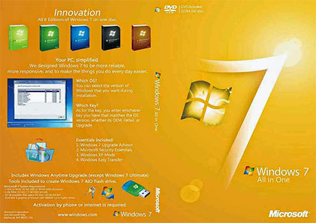 Windows 7 All In One 32 dan 64 Bit