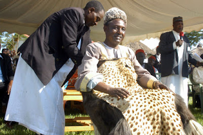 Peter Mumia II installed as King. PHOTO|FILE